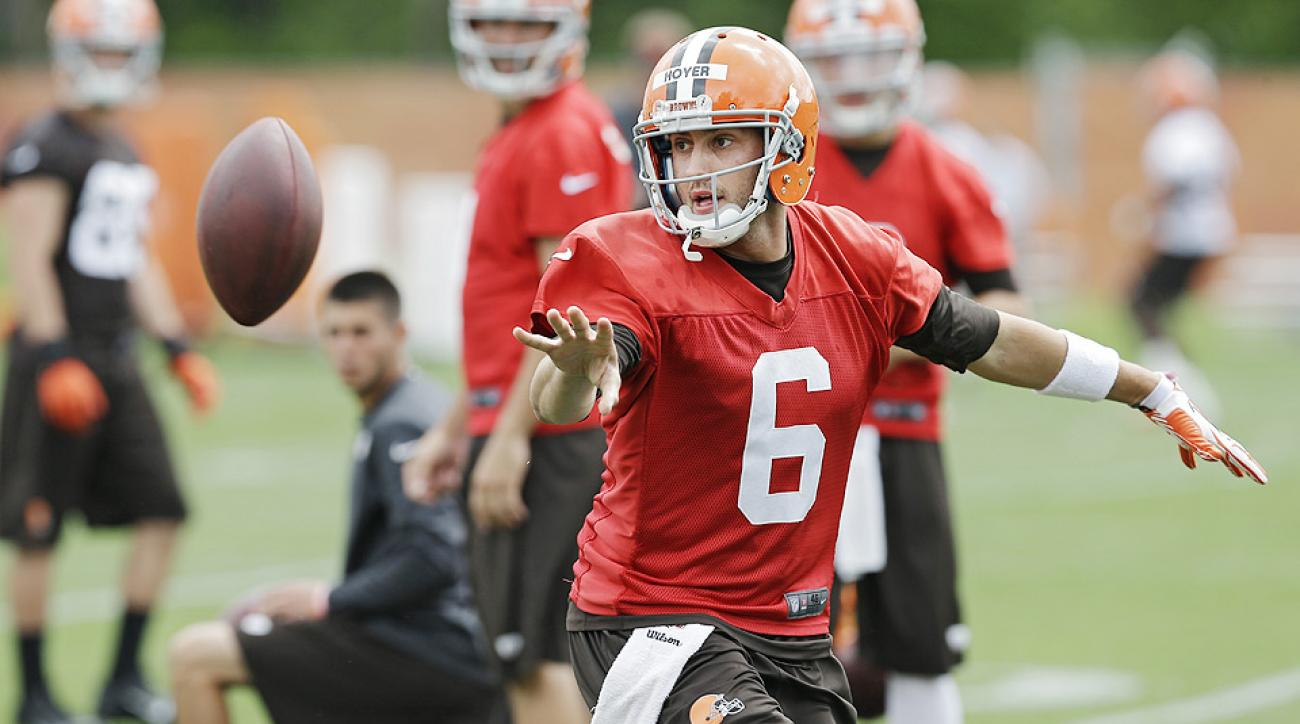 Brian Hoyer is holding off Johnny Manziel in Cleveland ... for now