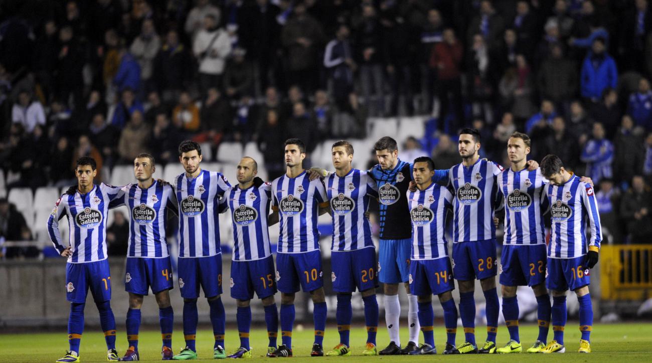 Deportivo de la coruna fixtures 2014