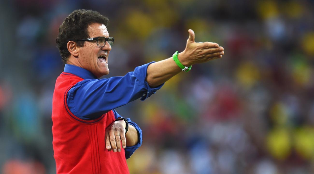 Fabio Capello says he'll continue on as Russia manager despite World Cup failure in Brazil