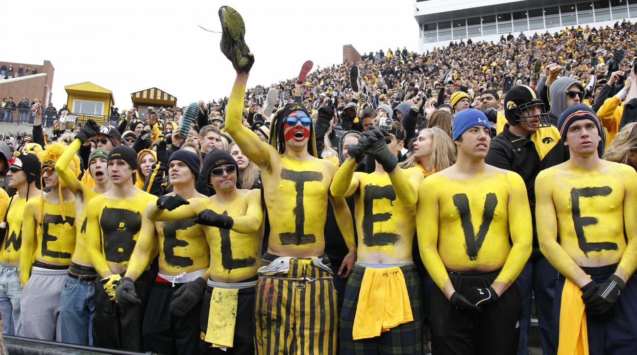 Iowa free tution season football ticket prize