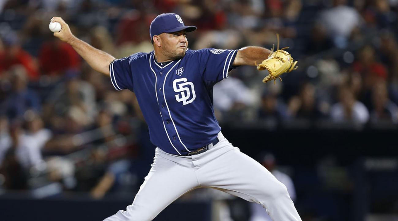 San Diego Padres Joaquin Benoit