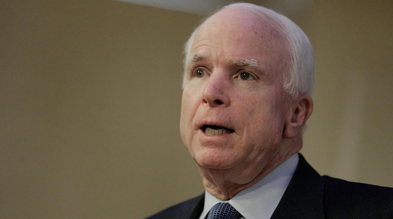 John McCain says 2018 World Cup in Russia should be reconsidered