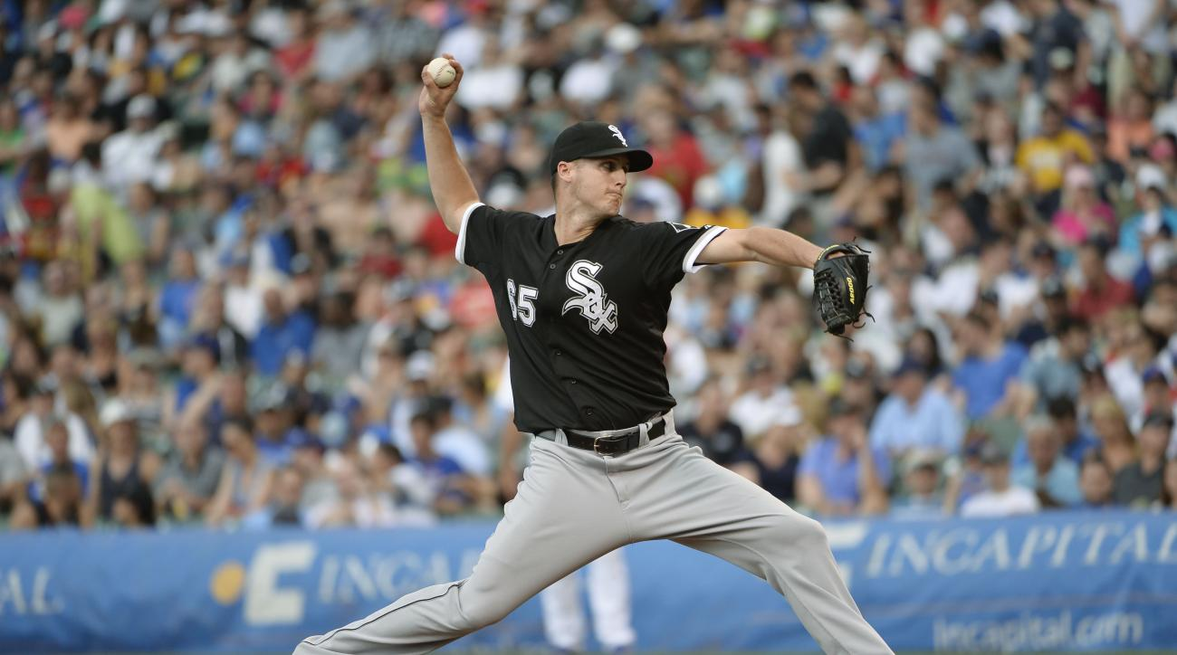 White Sox reliever Nate Jones will miss 12 to 15 months after undergoing Tommy John surgery.