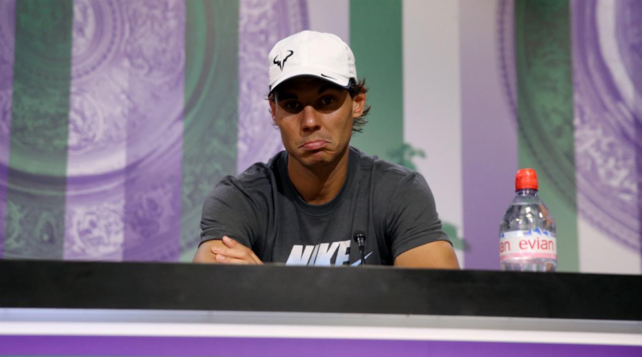 Rafael Nadal injury U.S. Open