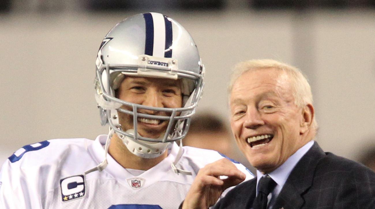 Jerry Jones says Tony Romo is 100 percent healthy