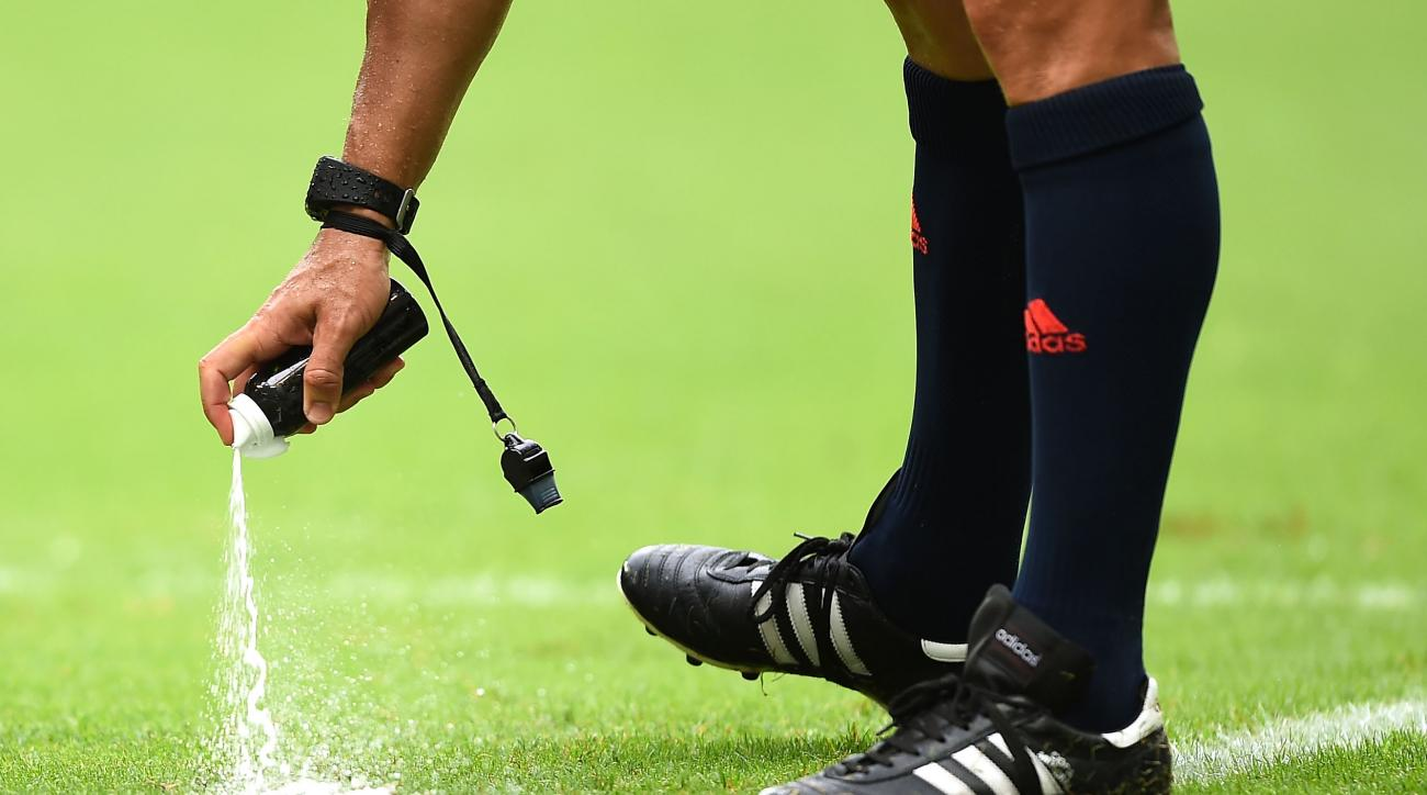 world cup vanishing spray premier league