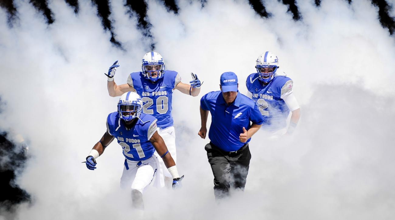 Air Force revealed new football uniforms for this season.