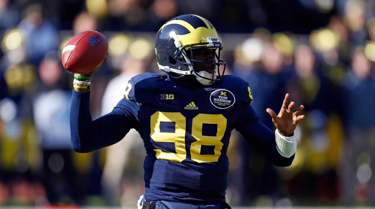 Michigan coach Brady Hoke said Thursday that Devin Gardner would be the team's starter if the season started today.