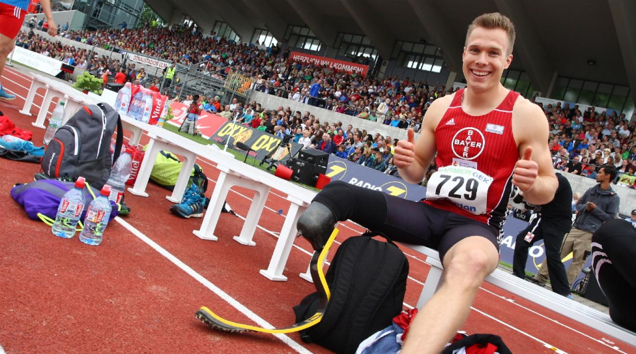 German amputee jumper Markus Rehm won't contest exclusion