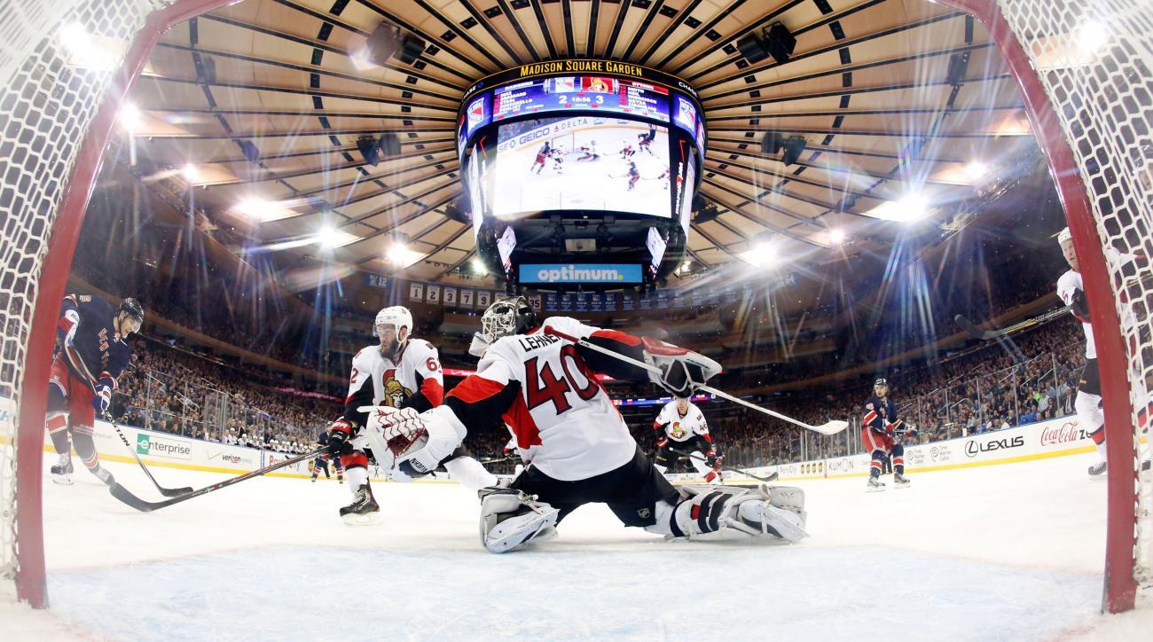 Robin Lehner re-signs with Ottawa Senators