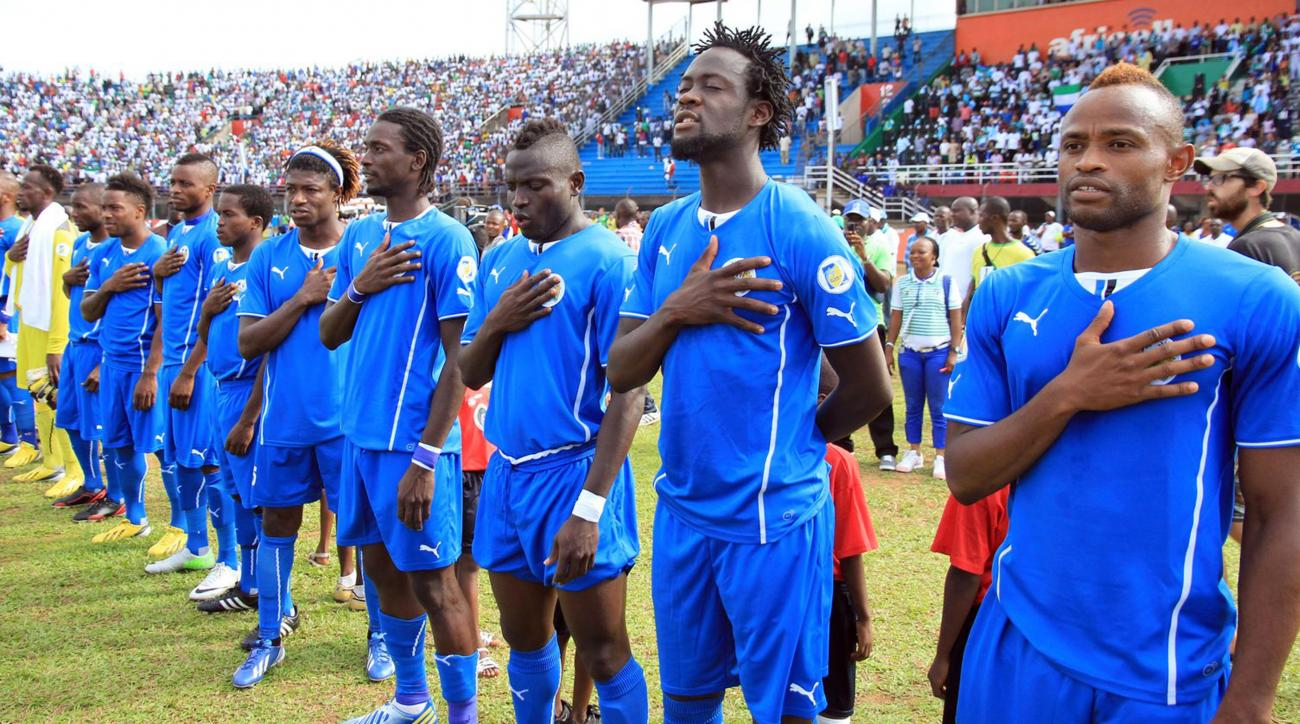 Sierra Leone soccer team banned due to fears of Ebola virus