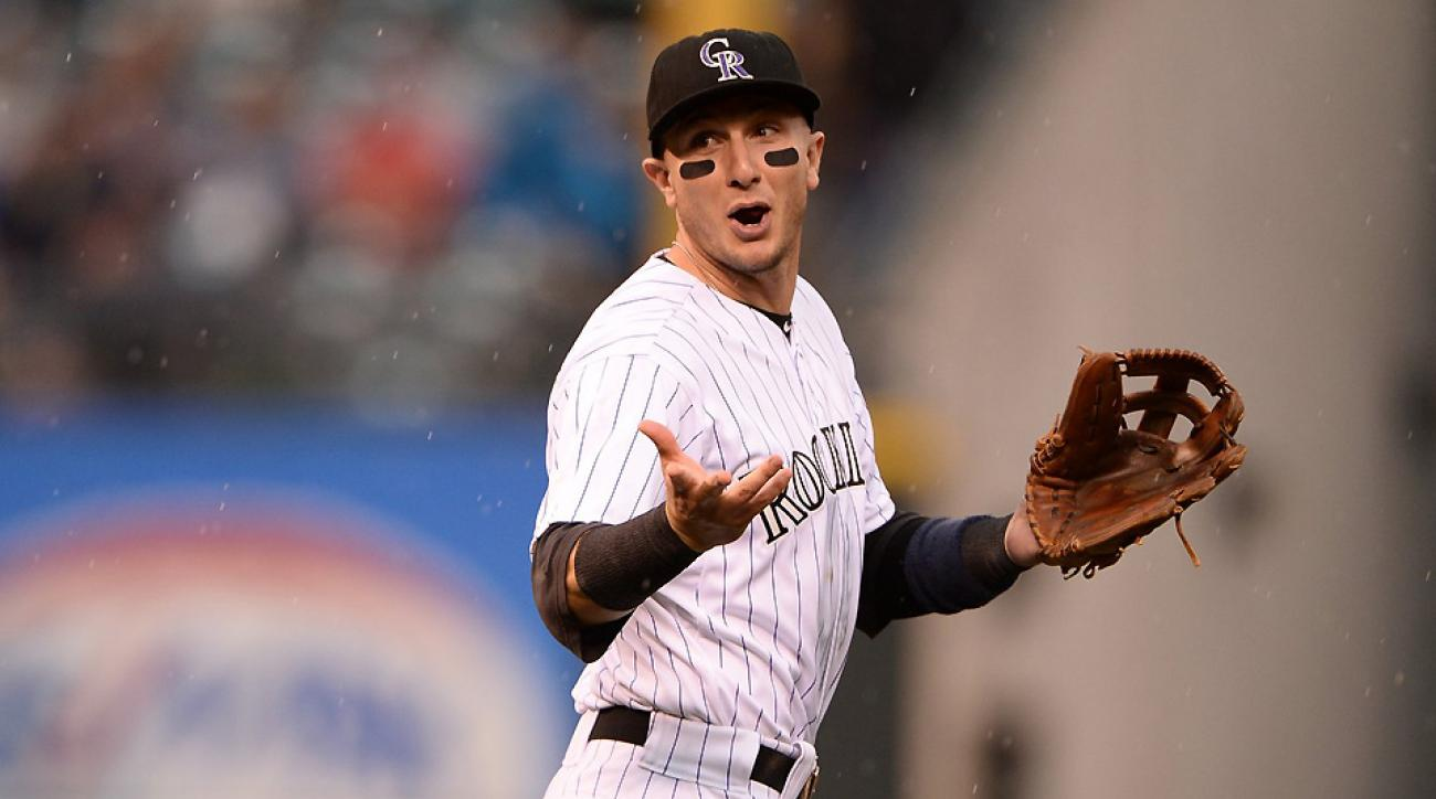 Troy Tulowitzki has been sidelined since July 19. Can he recover in time to pass Giancarlo Stanton and Andrew McCutchen?