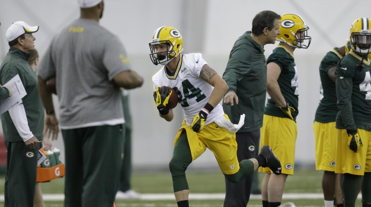 Jared Abbrederis green bay packers wisconsin badgers torn acl