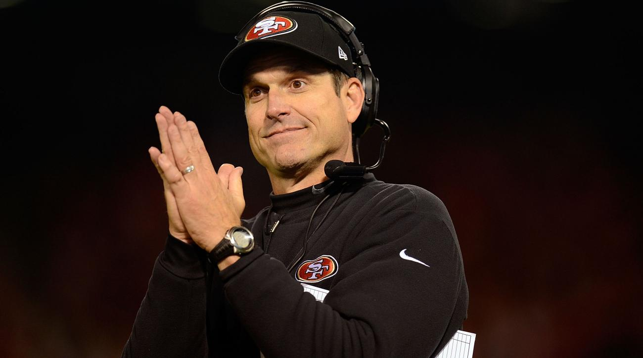jim harbaugh jed york contract talk