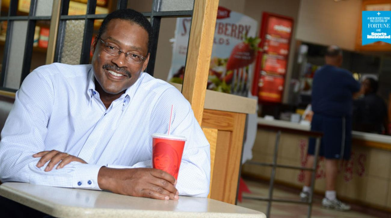 Former NBA player Junior Bridgeman now owns 240 restaruant franchises