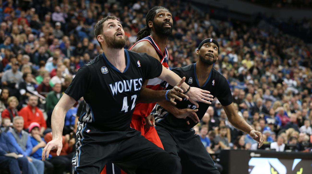 Kevin Love trade Corey Brewer