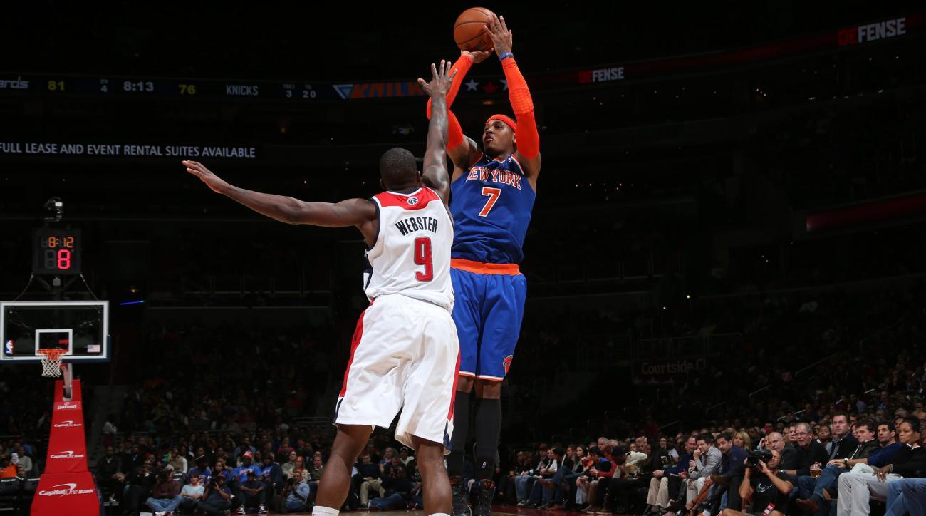 Knicks, Wizards to play on Christmas