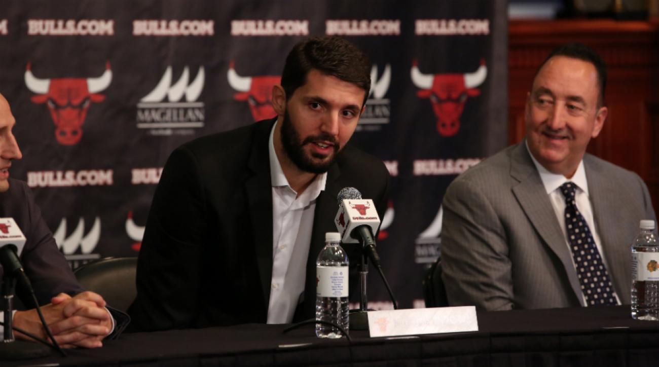 David Blatt praises Chicago Bulls rookie Nikola Mirotic
