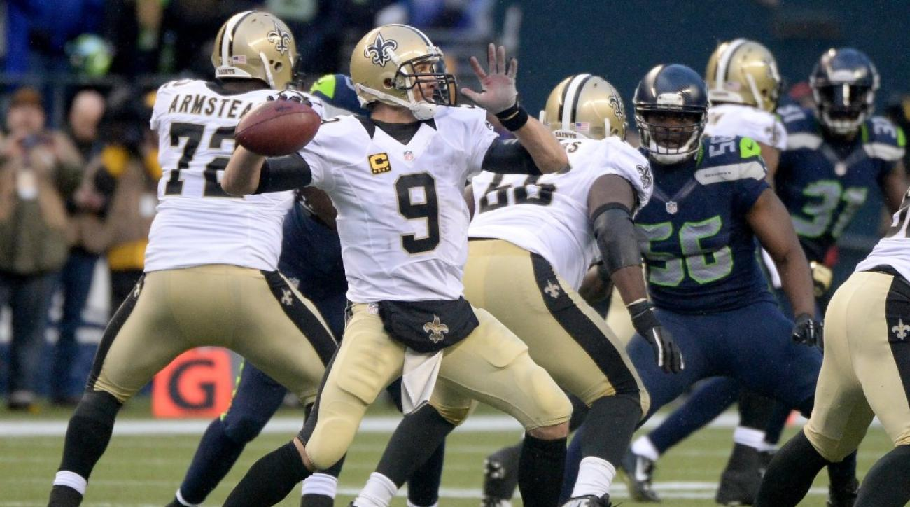 Drew Brees not expected to play