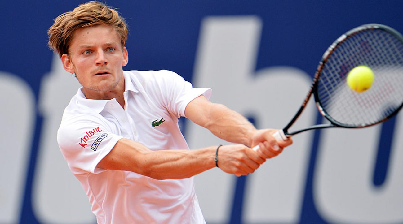 Belgium's David Goffin defeated Austria's Dominic Thiem on Saturday to capture his first career ATP tour victory.