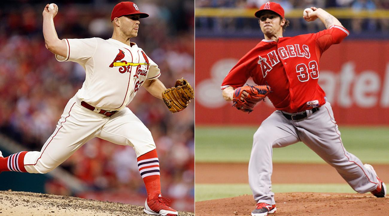The seasons of Angels' C.J. Wilson and Cardinals' Justin Masterson after their poor starts are something to keep an eye on.