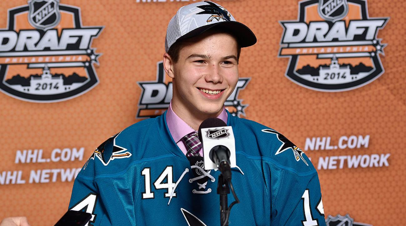 Nikolay Goldobin among top prospects who could earn a job in Sharks camp