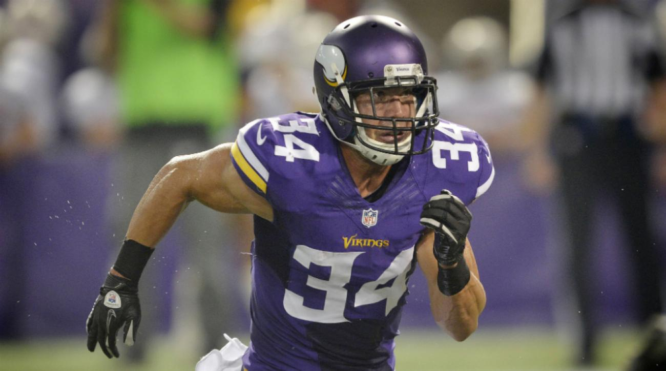Vikings safety Andrew Sendejo off PUP
