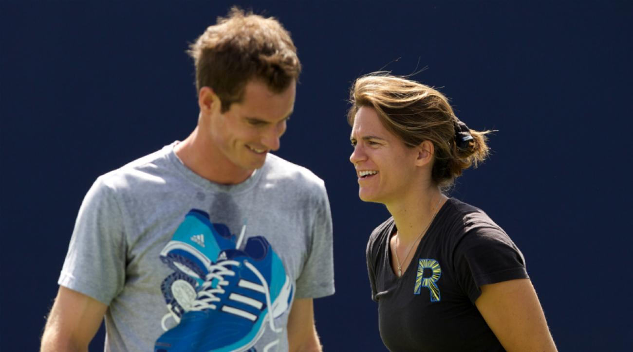 Andy Murray says Amelie Mauresmo will be coach long term
