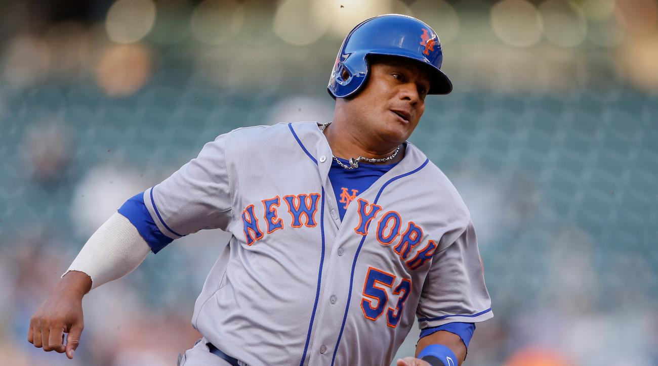 The New York Mets designated Bobby Abreu for assignment.