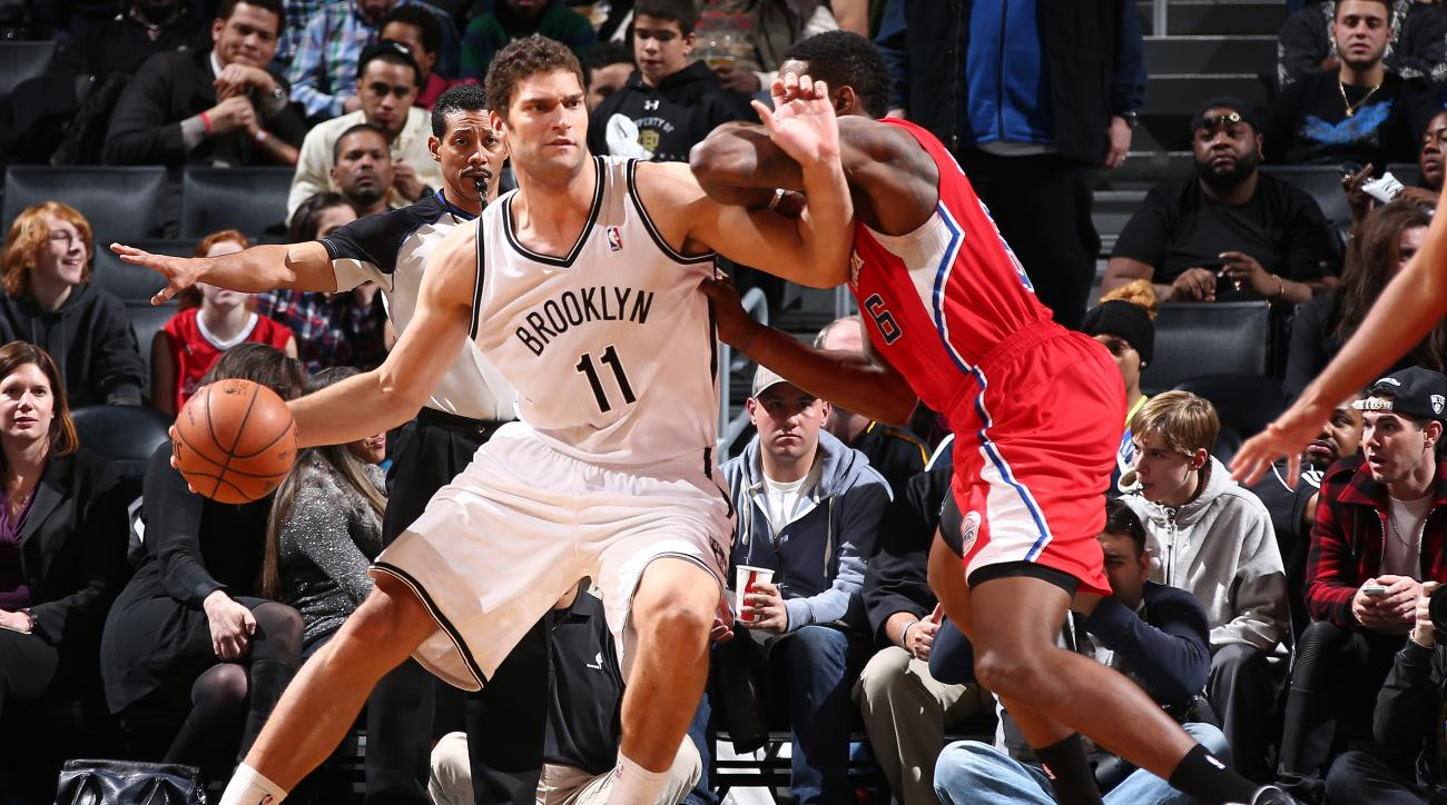 Brooklyn Nets center Brook Lopez says he was fully cleared by doctors for basketball activities.