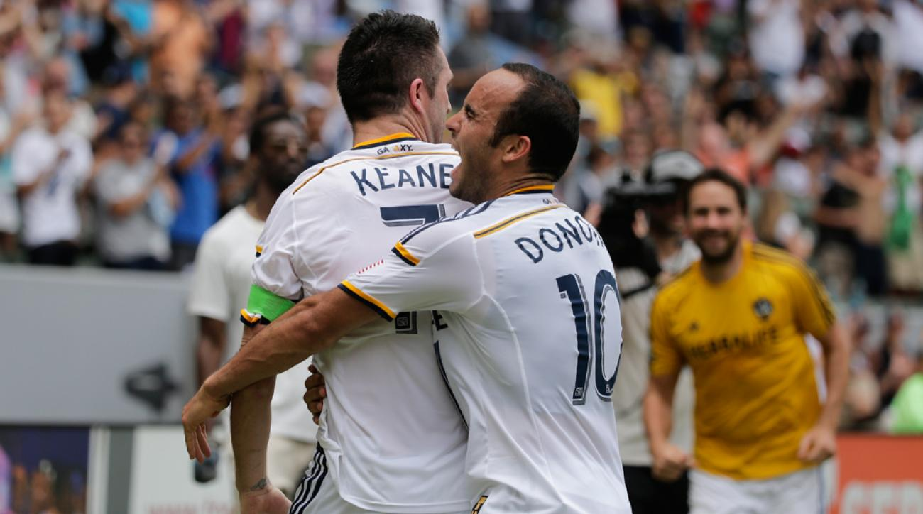 A romp through Cascadia teams Seattle and Portland has Landon Donovan, Robbie Keane and the surging LA Galaxy atop the MLS Power Rankings