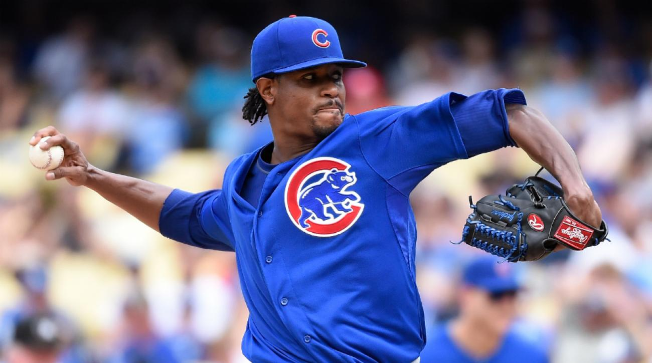Chicago Cubs pitcher Edwin Jackson not worrying about trades