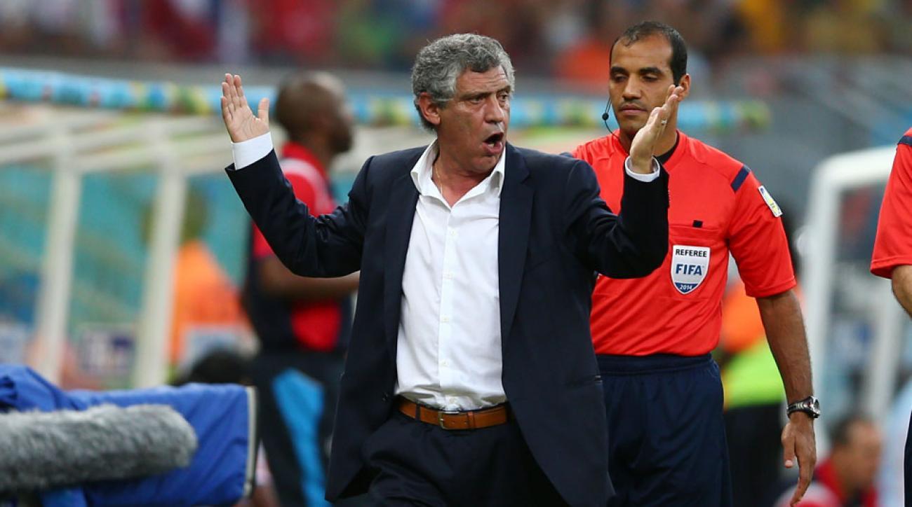 Fernando Santos banned eight matches