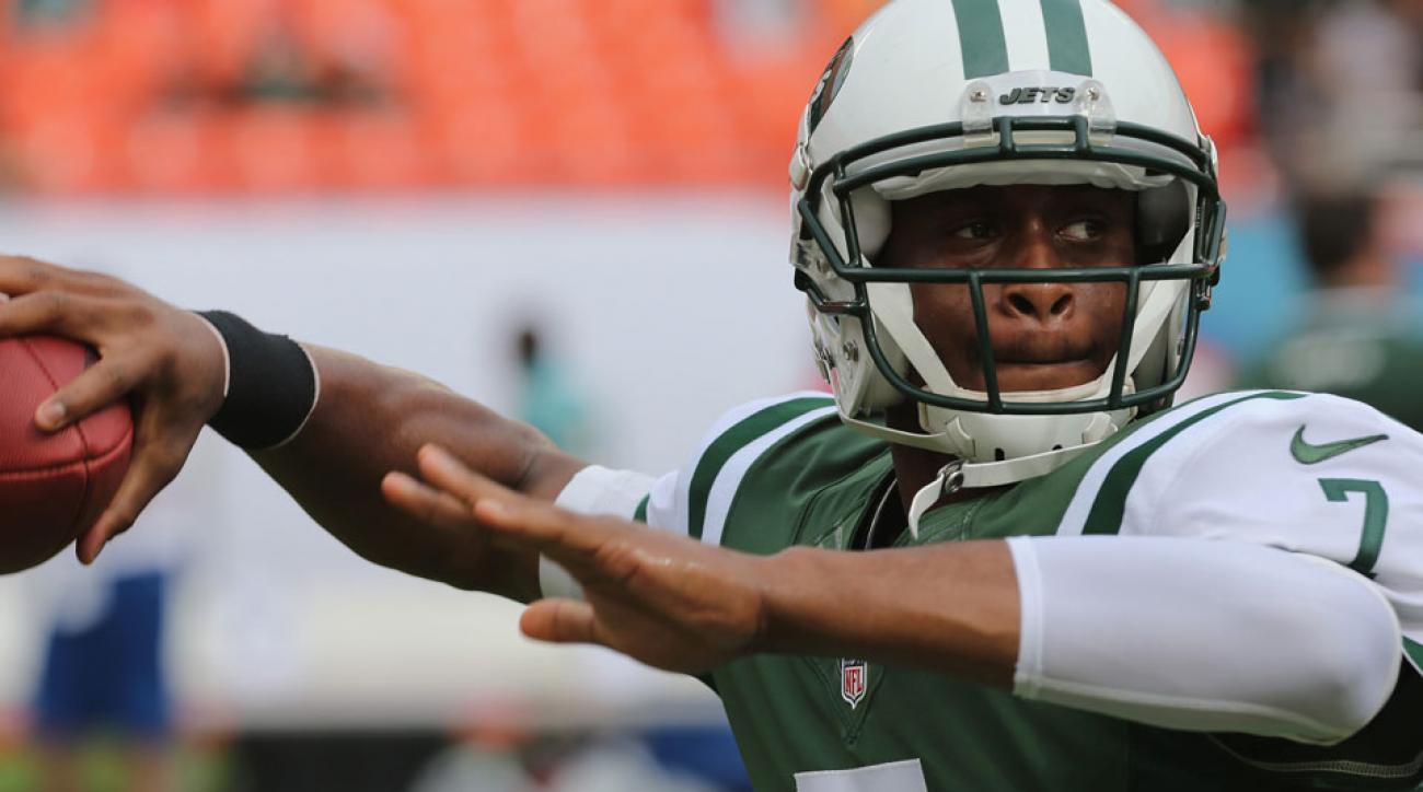 New York Jets' Geno Smith