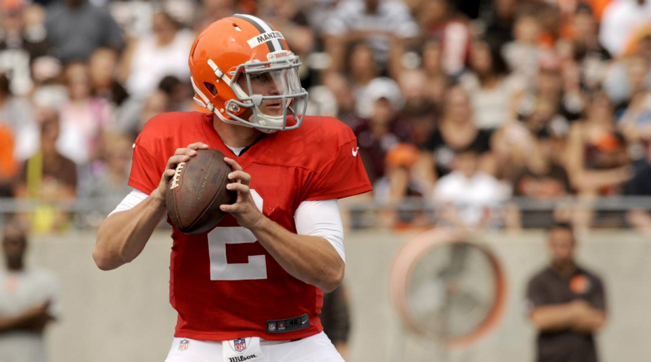 Cleveland Browns QB Johnny Manziel takes starter reps