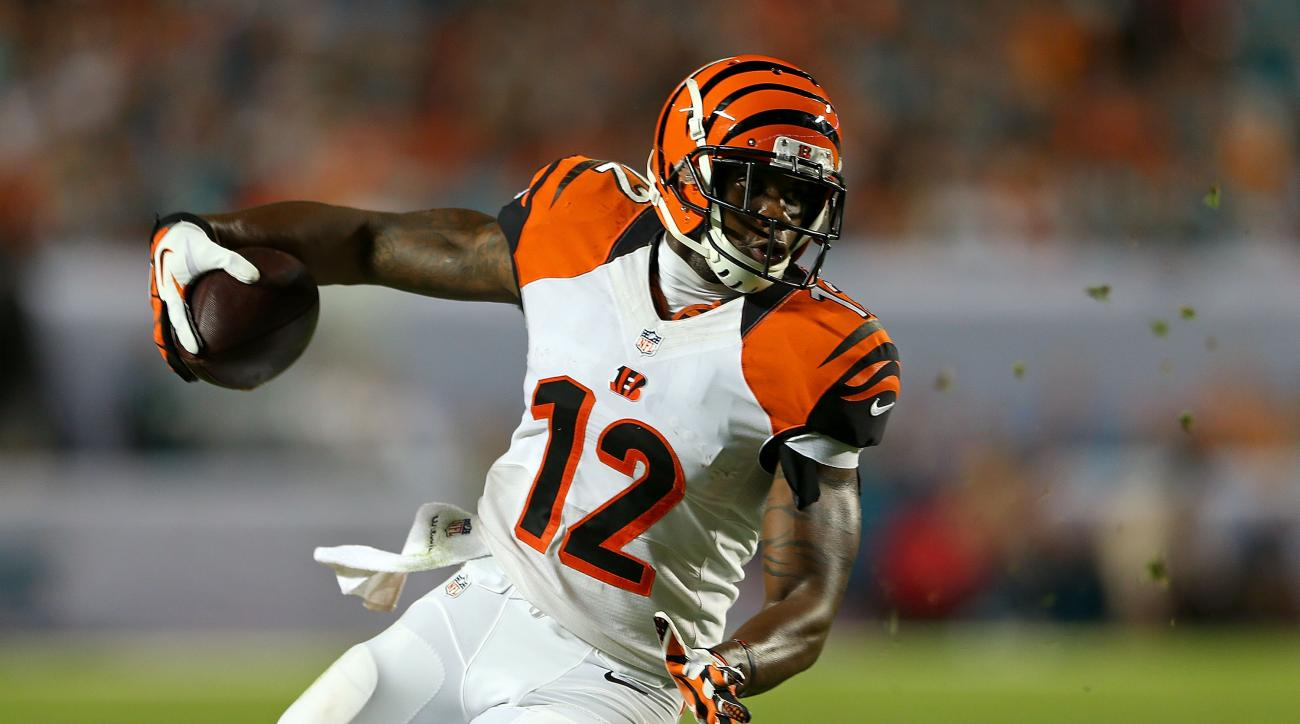Cincinnati Bengals wide receiver Mohamed Sanu has an IPO today, offering shares of his future earnings for $10.