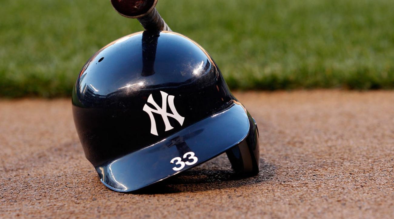 New York Yankees helmet