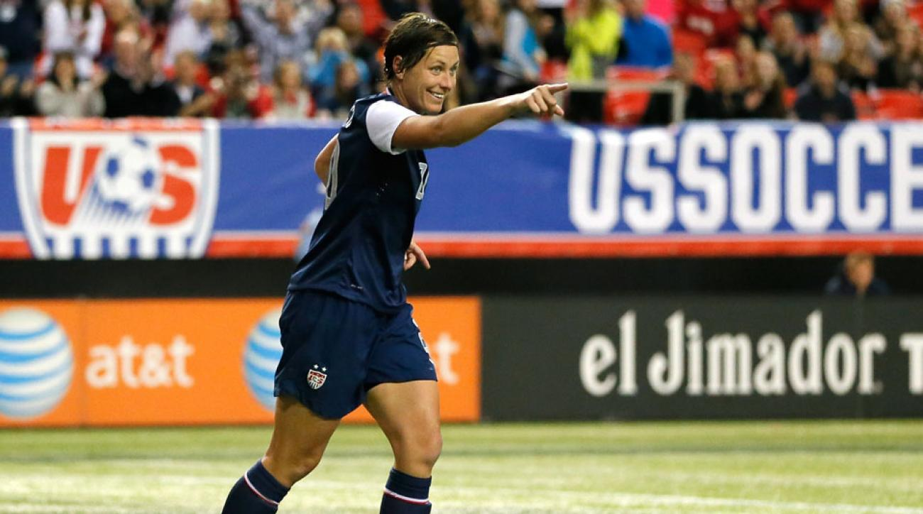 Abby Wambach is one of around 40 national players against the use of artificial turf at the Women's World Cup