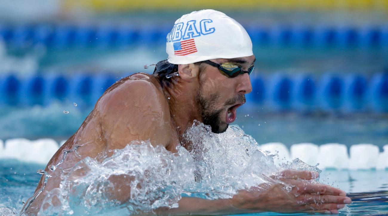 Michael Phelps signs with Aqua Sphere