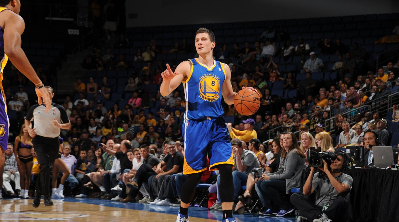 Warriors guard Nemanja Nedovic sustained a stress fracture in his right foot.
