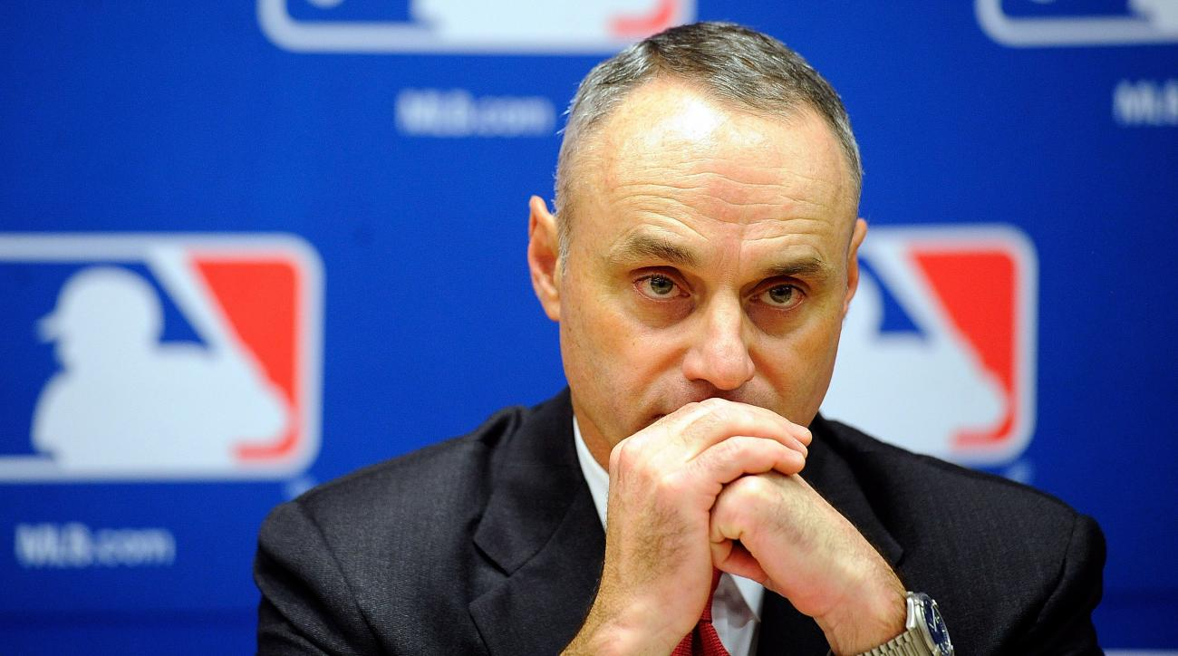 bud selig rob manfred mlb commissioner search