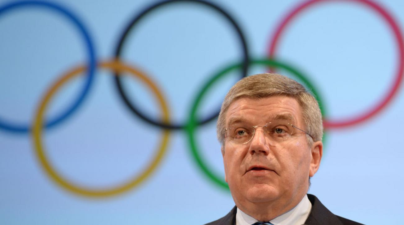 IOC president Thomas Bach supports the creation of a digital Olympic network.