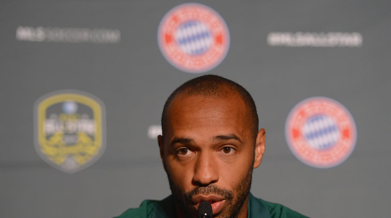 mls all-star game bayern munich thierry henry schedule time roster portland, oregon, usa