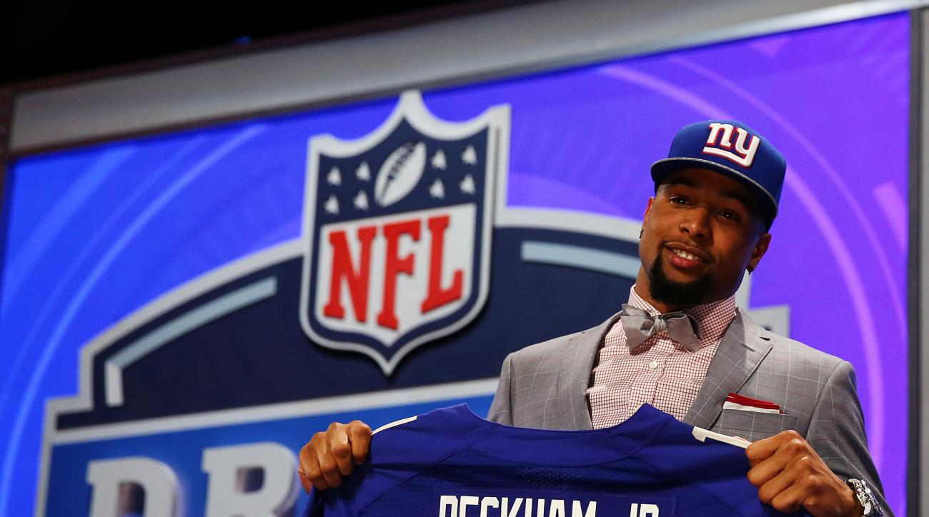 "New York Giants head coach Tom Coughlin said first-rounder Odell Beckham is ""close"" to returning to training camp."