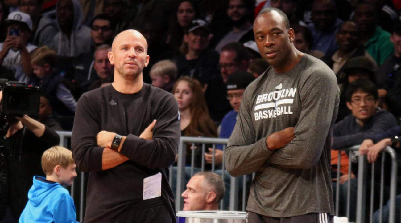 Roy Rogers (right) was an assistant on Jason Kidd's (left) staff last season in Brooklyn.