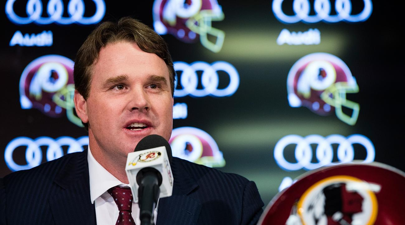 Jay Gruden said he thinks the Washington Redskins are on paper the best team in the NFC East.