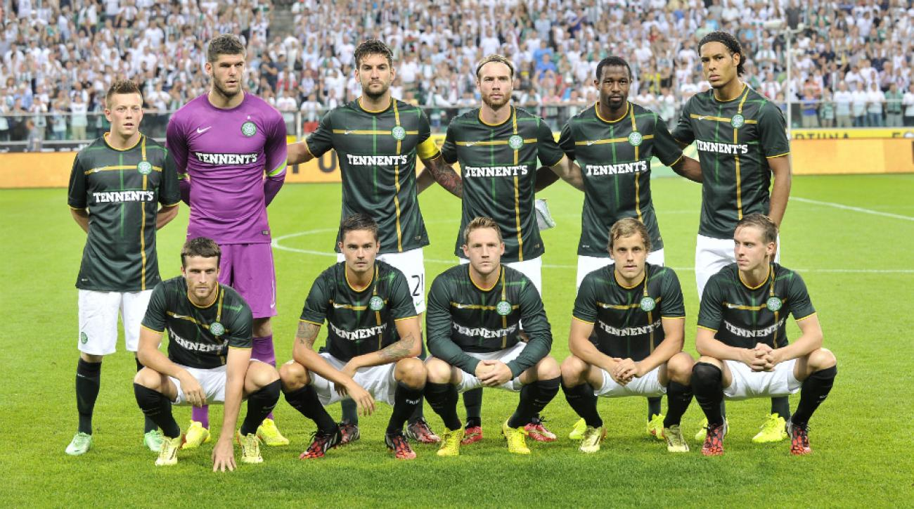 Celtic reinstated Champions League