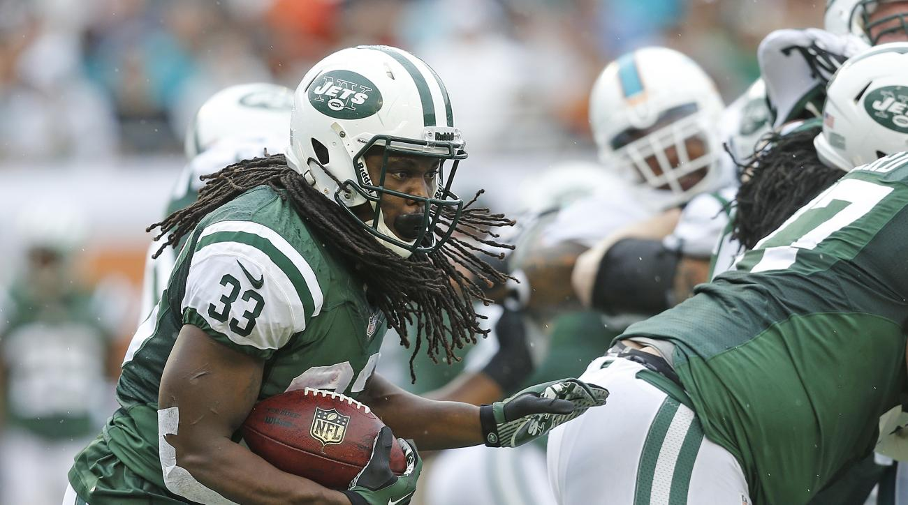 chris ivory new york jets chris johnson running back colts preseason game rib injury