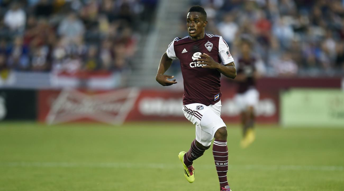 Deshorn Brown colorado rapids mls schedule fixtures