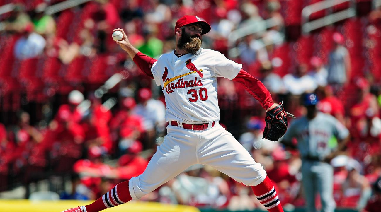 The St. Louis Cardinals placed reliever Jason Motte on the 15-day DL.